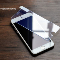 Wholesale Cheap Iphone Glass Screens - For iphone screen protectors 0.3mm 2.5D tempered glass anti-fingerprint screen protector clear flim for samsung galaxy S4 iphone 7 6s cheap