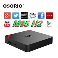 Le plus petit M95 MINI Allwinner H2 Mini M95 1 Go 8 Go Smart Tv Box WiFi 3D V88 X96 DLNA Android Petit Set-top Box Media Player VS M9S T95Z H96