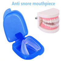 Wholesale Silicone Mouth Guard - 100boxes,Hot sale safe food grade EVA silicone mouth guard portable snore stopper anti snore mouthpiece
