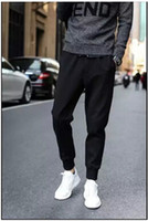 Wholesale Wholesale Hip Hop Sweat Pants - Wholesale-Men Pants Spring 2015 Autumn, Millitary Crime Hip-hop Fashion Brand Jogger Sweat Harem, Leisure Pants Slimming harem pants
