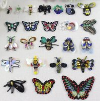 Wholesale Diy Accessory Applique Iron Badge - Sewing Patches For Clothing Iron On Embroidered Appliques DIY Apparel Accessories Badges For Clothes Fabric Badges