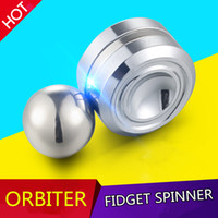 Wholesale Magnetic Gyro - Brand New Orbiter Fidget Spinner Toys Magnetic Suction Metal Yo-Yo for Boy Girl kids Decompression Funny Game Fingertip Gyro Hand Spinner