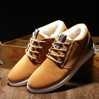 Wholesale Canvas Slip Resistant Shoes - Free shipping man Casual Shoes British style Keep warm Cotton-padded shoes Skate shoes Non slip Wear-resistant Breathable Comfortable A-37