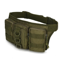 Wholesale Tactical High Quality L Small Men D Waterproof Molle Oxford Hunting Pouch Waist Bag