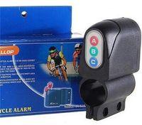 Wholesale Security Bicycle Lock Moped Bike - Bike Motorbike Alarm Security Bicycle Steal Lock Moped Bike Black