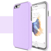 Wholesale Armor Series - 2017 Genix Series Hybrid 2 in 1 Phone Case Slim Armor Cases Candy Colors For iphone 5 5s se 6 6s 7 Plus