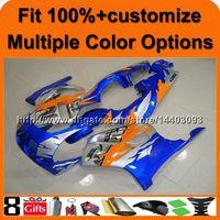 обтекатель 1989 года оптовых-23colors + подарки + литье под давлением оранжевый синий мотоцикл обтекатель для Honda 98-99 CBR250RR MC19 1988 1989 мотоцикл панели
