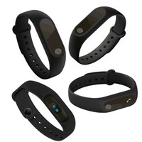 Wholesale Android Display Monitor - Wholesale- 2017 Original M2 Smart Wristband Smart Band Heart Rate Monitor Fitness with OLED Display for IOS Android PK xiaomi mi band 2