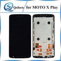 Wholesale One X Screen Lcd - For Motorola Moto X Play LCD Digitizer Touch Screen Replacement With Frame Assembly One By One Check