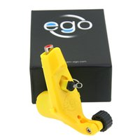 Wholesale Ego Tattoo - Wholesale- EGO Light weight Rotary Tattoo Machine Pink Girl Tattoo Guns Cool Professional Tattoo Machine Supply Free Shipping