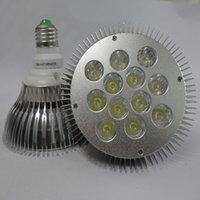 Wholesale Wholesale Top Led - Top par38 led spotlight 36w 12x3W Par 38 with 12 led LEDS Lamp 85-265V led Bulb light E27 Spotlight par38 downlight lights 4pcs lot CE RoHs