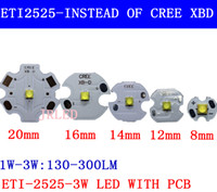 Wholesale Cree Star - Wholesale- 10pcs 3W Nation Star 2525 SMD High Power LED diode Chip light emitter Cool Neutral White Warm White instead of CREE 2525 XB-D le
