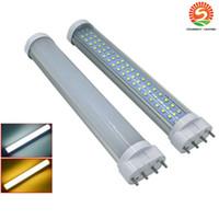 rohr 2g11 großhandel-2G11 LED Schlauch Glühlampe 12W 15W 18W 22W 25W 2G11 LED Schlauch Lampe 4Pin LED 2G11 Birne 2pcs ac85-265v ul saa dlc