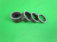 Super Light Carbon Spacer Washer Full Carbon Fiber Bicicletta Bicicletta Bicicletta Spacer 5/10/15 / 20mm Adatto Per Forcella 28,6mm 3K lucido / 3K Matte