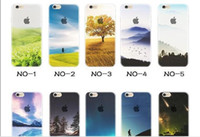 Wholesale Wine Tower - For Apple iphone 6 6S plus iphone 7 plus SE silicone case landscape Plating TPU cell phone cases Elizabeth Tower Big Ben Eiffel