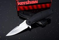 "Wholesale Knife Assisted Free Shipping - Kershaw 1970 Burst Assisted 3"" Plain Blade, Nylon Handles Best Outdoor Camping Hunting knife knives EDC tools 1PC Free shipping"