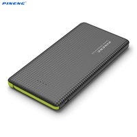 Wholesale New PINENG PN mAh Portable Mobile Power Bank Battery Charger Built In Charging Cable External Battery Charger Powerbank