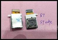 Wholesale European Version - For Samsung S7 S7 edge Rear Back Camera Flex G930F G935F European Version Main Big Camera Module Repair parts
