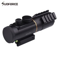 Tactical 3X42 Red Dot Sight Scope Fit Picatinny Rail Mount 11mm oder 20mm Riflescope Jagd Schießen mit Spirit Bubble Level