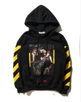 Wholesale Tattoos Colorful Sleeves - Wholesale - Hooded Sweatshirt High Tide Brand Hoodie Jacket Texture No. 13 Tattoo Colorful Men & Women Couple Wear Sweater