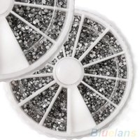 Nail Art 2000PCS 1.5mm Rhinestones Glitter Diamond Gems 3D Советы Украшение колеса 1PWO 1U7D 4BA7