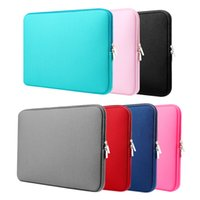 """Wholesale Wholesale Ipad Neoprene Case - Laptop Sleeve 15 13 11 Inch 15.6'' for MacBook Sleeve Air Pro Retina Display 12.9"""" iPad Soft Case Cover Bag for Apple Samsung Notebook"""