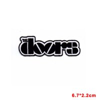 Wholesale rocking music - THE DOORS JIM MORRISON PUNK ROCK HEAVY METAL MUSIC SEW ON   IRON ON PATCH