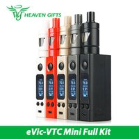 Kit Evic Al Por Mayor Baratos-Precio al por mayor Joyetech eVic-VTC Mini Kit completo con eVic-VTC Mini Box Mod 4ml Capacidad TRON-S Atomizer Tank eVic-VTC Mini Kit sin batería