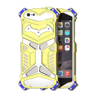 Wholesale thor metal phone case online - New Design Metal Armor Cases for IPhone S Plus Thor Series Aluminum Cover for IPhone S Phone Housing