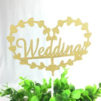 Miroir Surface Cake Topper personnalisé avec lettrage Love Wedding Cake Topper Acrylic Cake toppers Wedding Gift