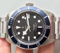 Wholesale self factory - New ZF Factory V4 Version Mens Automatic Eta Movement 2824 Watch Men Blue Bezel Heritage Full Steel Rotor 79220B Self Winding Top Watches