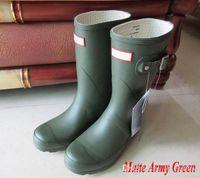 Wholesale Thanksgiving Socks - wholesale Fleece rain sock warm winter autom sock For Original Short 2017 Hunter Boots Christmas Stockings boots sale Short Boots