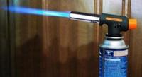 Wholesale Fire Starter Lighter - Wholesale-2016 Butane Gas Blow Torch Soldering Weld Gun Iron Lighter Burner Fire Flame Starter free shipping