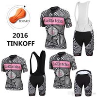 Wholesale Saxo Woman Cycling - 2016 Women Style Cycling Jerseys Pink Tinkoff Saxo Bank Bike Wear Short Sleeves Black White None Bib shorts Toure De France XS-4XL