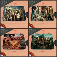 Wholesale Mice Definition - DIY Movie HOBBIT Customization, High-Definition Computer Mouse Pad, Non-Slip Rubber Rectangle Decorate Your Desk, As A Gift