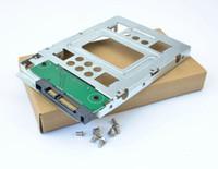 """Wholesale Hp Sata Adapter - HP 654540-001 2.5"""" SSD to 3.5"""" SATA Hard Disk Drive HDD Adapter CADDY TRAY CAGE Hot Swap Plug"""