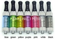 Wholesale Ego Twist 5pcs - Wholesale- 5pcs Mini vivi nova v2 clearomizer mini vivinova atomizer set 2ml Long wick tank for ego-t ego-w twist evod vv huge vapor