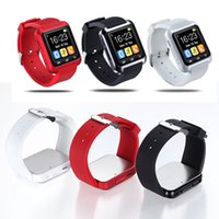 Wholesale Sale Phone Watches - Hot sale!!Yuntab U8 smart watch 1.44 inch touch screen sport smart watch bluetooth 3.0 wristband for smartphone Apple phone