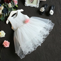 Wholesale Kids Tiered Skirts Wholesale - Weddings Events Kids Formal Wear Accessories wedding Flower Girls' Dresses princess Ball Gown cheap lace prom pageant dress TuTu skirt #8705