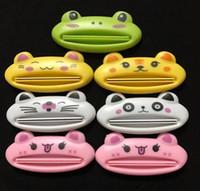 Wholesale Kids Dispenser - Cute Animal Toothpaste Squeezer Dispenser Organiser travel tidy Kids G711