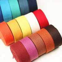 Wholesale Wholesale Polyester Webbing Straps - Polyester Webbing Ribbon For DIY Key Chain Fob, Yoga Strap, Tote, Bag Handle, Backpack Strap, Belt, Leash, Outdoor Chair