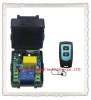 módulo de relé de controle venda por atacado-Atacado-Universal AC220V 1CH 10A Interruptor de Controle Remoto Módulo Receptor de Saída de Rádio e Transmissor À Prova D 'Água Alternar Momentary