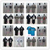 Wholesale Gary Mix - 2017 All-Star 99 Aaron Judge New York Yankees Jersey 2 Derek Jeter 24 Gary Sanchez 99 Aaron Judge Flex Base Baseball Jerseys Mix Order