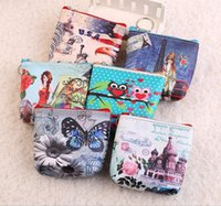 Wholesale Oval Clutches - Women Wallet Zipper Bifold Clutch Coin Purse Card Holder Small Bag Case