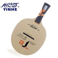 Wholesale Base 4s - Genuine Yinhe   Galaxy T-4S Table Tennis Blade (5wood + 4carbon) Ping Pong Racket Base Raquete