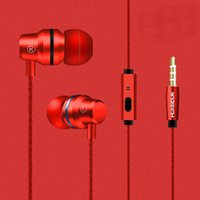 Wholesale rose control - Waterproof Earphone Twins Earphone Top Grade Headphone Wired With Mic Volume Control 3.5mm For Iphone 8 7 6S S7 S8