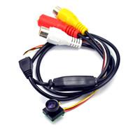 Wholesale Wholesale Vandal Cameras - DIY CCTV Camera 1.8mm 170 Degrees wide angle lens color Camera CMOS CCTV mini Camera