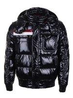 Wholesale Cheap Black Coat For Men - Cheap 2017 Men Winter Outdoor sNow Warm Duck Down Coats Male Short ThickEn wAtErPrOoF ParkA Jackets Black Red S-XXL For Sale