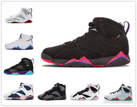 Wholesale bunny rubber for sale - 7 women men basketball shoes alternate french blue black red white raptor Bordeaux Lola Bunny Verde Hot Lava Sports Shoes