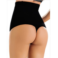 butts s thong großhandel-Frauen-Kolben-Heber Shaper Tummy Control Panties Shapewear Thongs Unterwäsche
